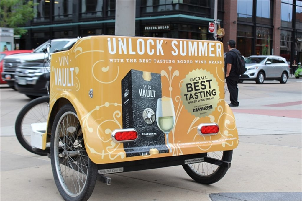 Pedal Cab Ad